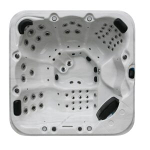 6000 IN. CLEAR TWIN PUMP- H20 SPAS